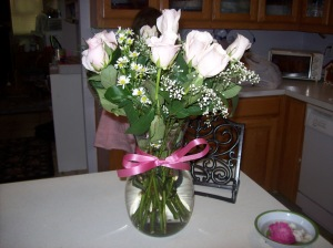 Beautiful roses from my sweetheart for Mother\'s Day